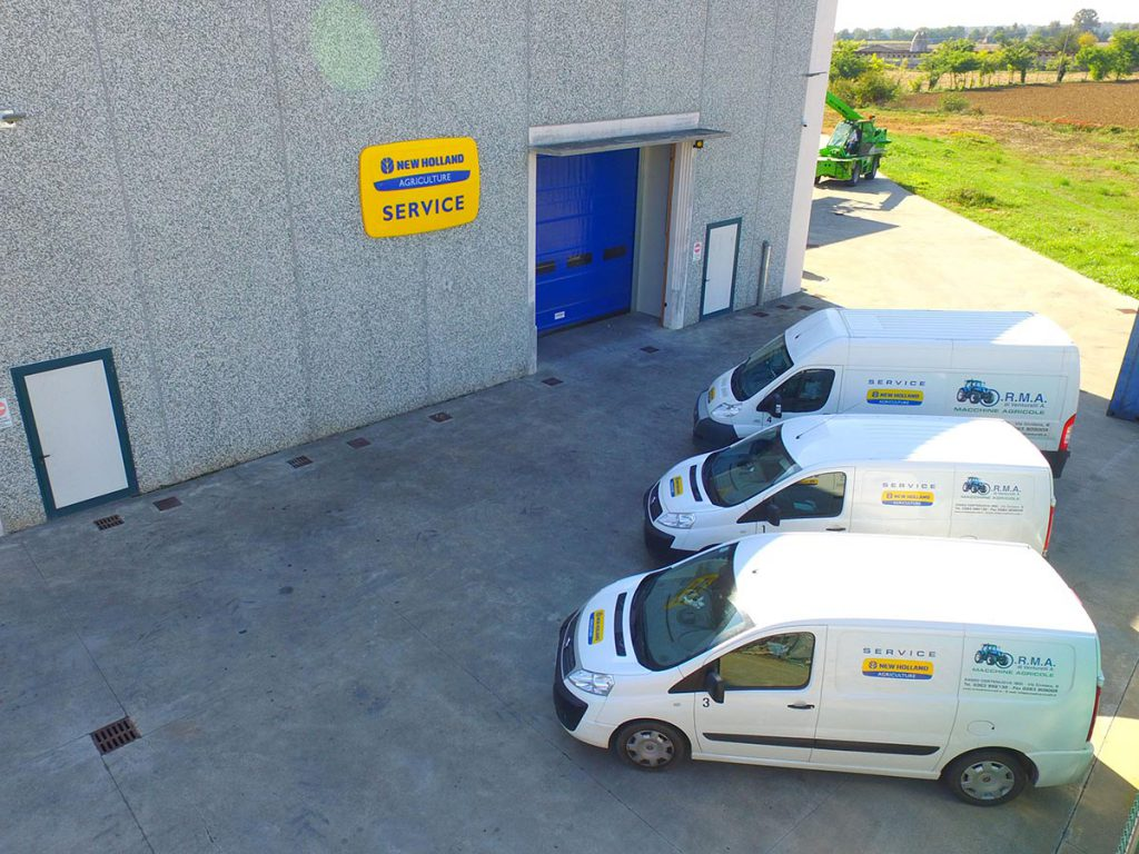 assistenza new holland bergamo